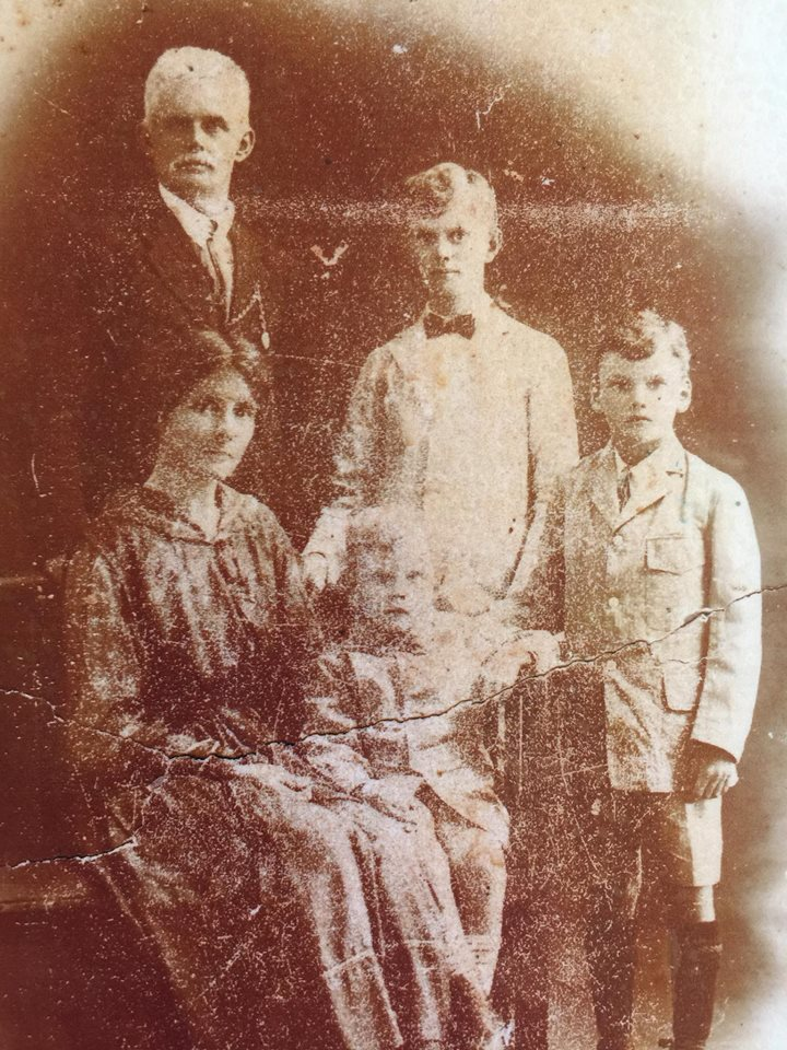 James Igantius Costigan and family